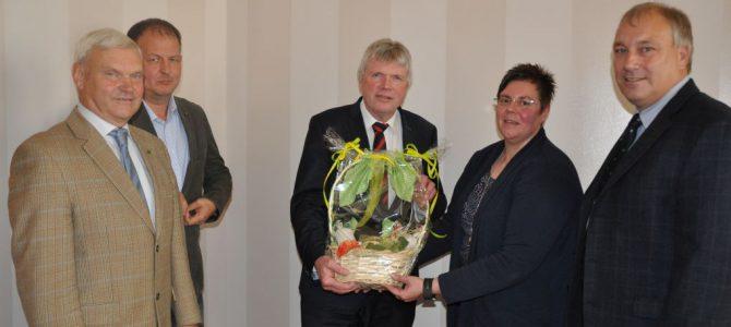 Besuch bei Landrat Martin Skiebe in Halberstadt